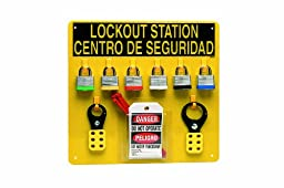 Brady LC211G Prinzing Lockout Center Bilingual (1 Each)