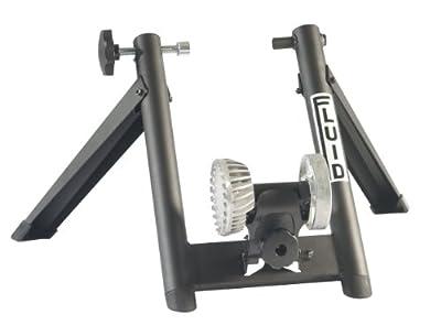 Graber Fluid Trainer Bike, Black