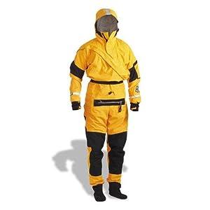 Kokatat Gore-Tex Expedition Dry Suit - Unisex Mango, M