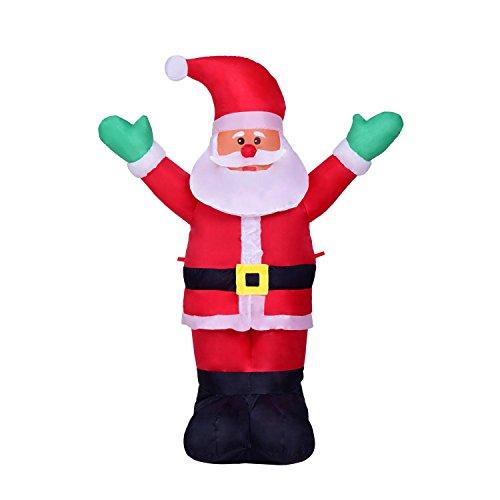 Top 5 best santa clause lawn decoration for sale 2016 for 4 foot santa claus decoration