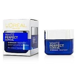 LOreal Paris White Perfect Clinical Overnight Treatment Cream, 50ml