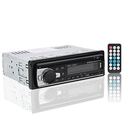 Car Stereos,Rixow Auto Radio Bluetooth Vehicle Audio Player Car MP3 Player Stereo with FM Radio Function screen Audio Media Receiver