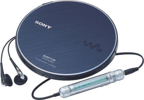 sony cd随身听 蓝色 d-ne830 l