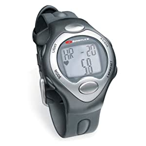 Bowflex Strapless Heart Rate Monitor with Calorie Counter, Classic Black/White, Large