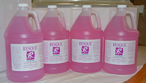 Resque Ultimate Styling & Sculpting Lotion Gallon/128oz (4 pack)