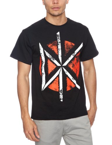 T shirt L Dead kennedys - Distressed dk logo (T shirt taille large)