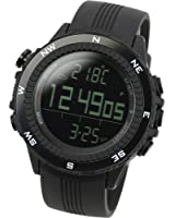[Lad Weather] German Sensor Digital Compass Altimeter Barometer Chronograph Alarm Weather Forecast Outdoor Wrist Sports Watches (Climbing/ Hiking/ Running/ Walking/ Camping) Men's