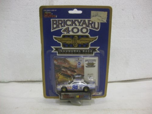 Brickyard 400 Inaugural Race August 6, 1994 #94 Chevy Lumina In White & Purple Diecast 1:64 Scale By Racing Champions - 1