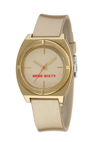 Miss Sixty Gold In Collection Vintage Ladies Watch - STU007