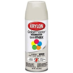 Krylon 51506 Almond Interior and Exterior Decorator Paint - 12 oz. Aerosol