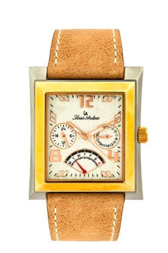 Louis Ardens by Oskar Emil Ottawa Elegant Suede Strap Gents Watch