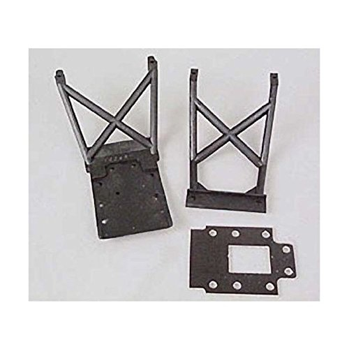 Traxxas 4133 Skid Plates and Fiberglass Transmission Spacer, Nitro Stampede - 1