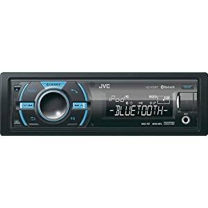 10. JVC KD-X50BT In-Dash Car Stereo Digital Media Receiver w/ Built-In Bluetooth, Front USB & Variable Color Control. Precio: $91.35