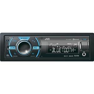 10. JVC KD-X50BT In-Dash Car Stereo Digital Media Receiver w/ Built-In Bluetooth, Front USB & Variable Color Control. Precio: $91.35