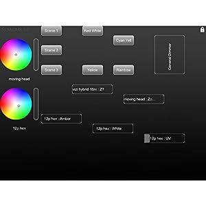 ADJ Products ADJ MYDMX3.0 DMX control software designed to help make programming lightshows easier. MYDMX 3.0 (Color: MultiColored)