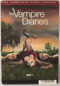 BACKER CARD FOR: THE VAMPIRE DIARIES: THE COMPLETE FIRST SEASON - DISC 1 - (Not The DVD)