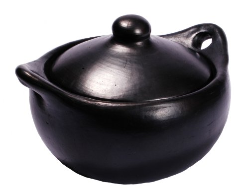 Black Clay, La Chamba Stew Pot – Large – 6 quarts