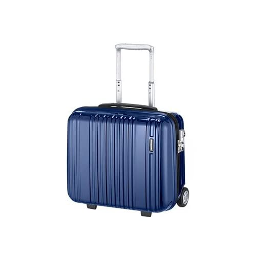 BERMASスーツケース|バーマスプレステージ 2輪 横型ジッパーキャリー 【36cm】 60211ネイビー