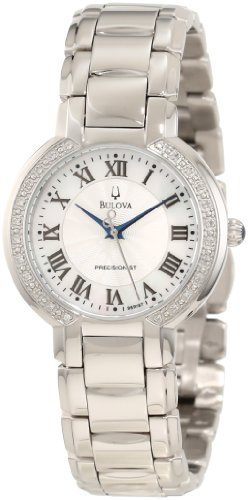 Bulova 96R167 Ladies Precisionist Silver Watch