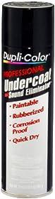 Dupli-Color (UC102-12 PK) Black Professional Undercoat with Sound Eliminator - 17 oz. Aerosol, (Case of 12)