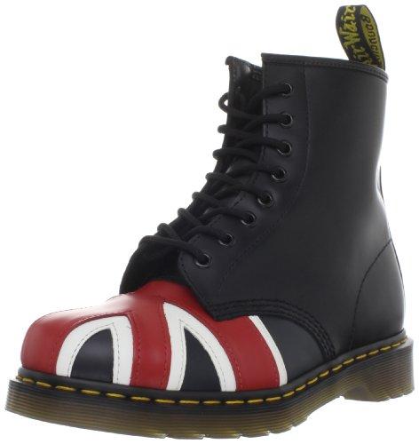 Dr. Martens Original Men's Union Jack 8 Eye Boot Black 10950001 8 UK Regular