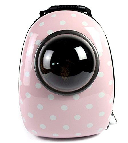 Lovely summer Pet Dog Cat Puppy Carrier Traveler Bubble Backpack Travel Shoulder Bag Dog Carrier Travel Sling Bag Small Dog Backpack