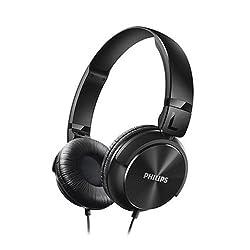 Philips SHL3060BK/00 On-Ear DJ Style Monitoring Headphone  (Black)