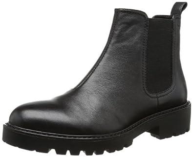 Vagabond Kenova, bottes chelsea femme Noir Schwarz (Black 20), 40