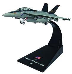 F/A-18F Super Hornet fighter F/A-18F Super Hornet diecast 1-100 model (Amercom SL-6)