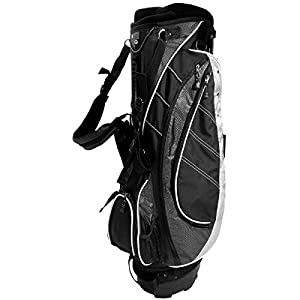 NEW Ultralite Stand / Carry Golf Bag 8-way Top Lightweight KG Black / Charcoal