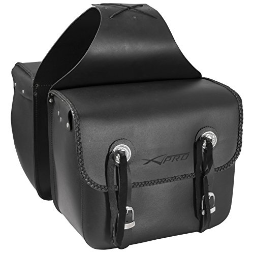 Borse Laterale Rigida Sotto Sella Custom Borsoni Saddle bag Nero
