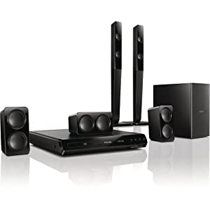 philips htd3540 12 home cin ma 5 1 avec lecteur dvd 2. Black Bedroom Furniture Sets. Home Design Ideas