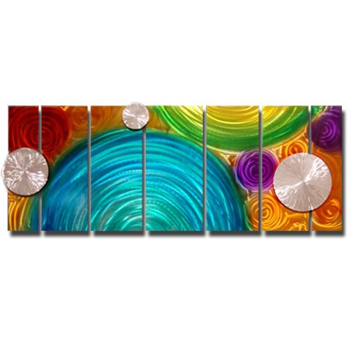 Elation Contemporary Home Decor Modern Wall Sculpture by Jon Allen