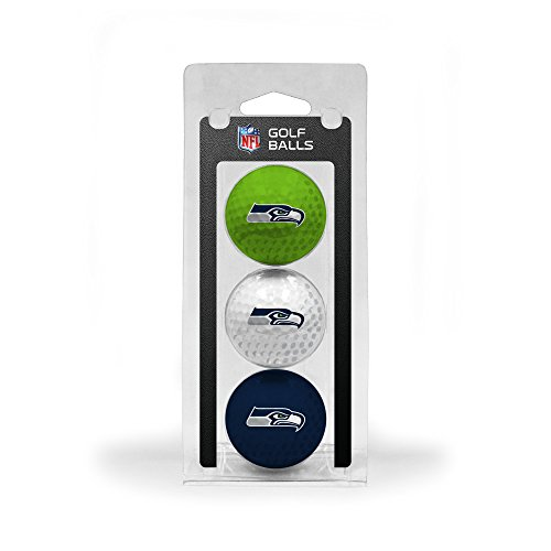 NFL Seattle Seahawks 3-Pack Golf Balls from Team Golf