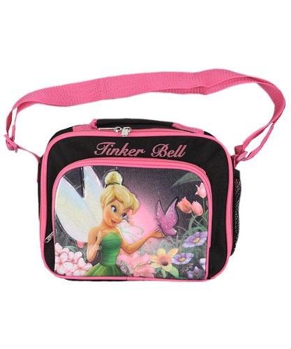 Disney Fairies Tinker Bell Kids Pink / Black Girls Lunch Bag