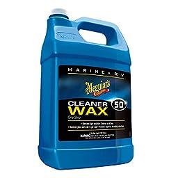 Meguiar\'s M5001 Marine/RV One Step Cleaner Wax - 1 Gallon