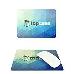 TopCase Extra slim Transparent TPU Keyboard Cover Skin for Apple Macbook with TOPCASE Mouse Pad (13\