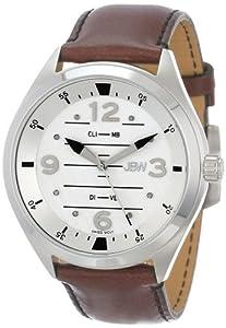 JBW Men's J6282-setC Interchangeable Aviation-Inspired Dial 8 Diamonds Watch Set