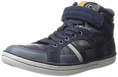 Geox - Garcia B A, Sneakers per bambini e ragazzi, blu (c4002), 34