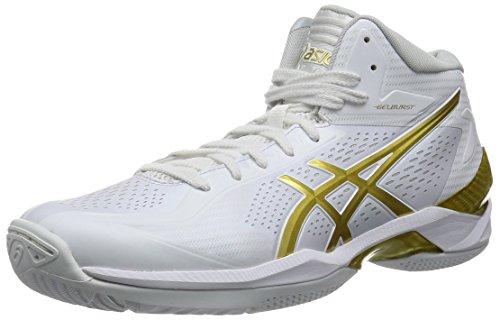 [アシックス] asics バスケットボールシューズ GELBURST 20th TBF329 0194 (ホワイト/ゴールド/26.0)