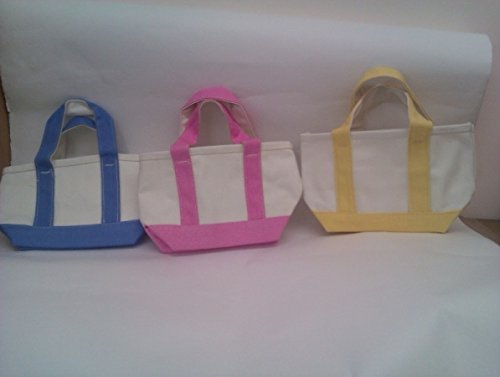 12 Mini Size Cotton Canvas Bag Case Of 72