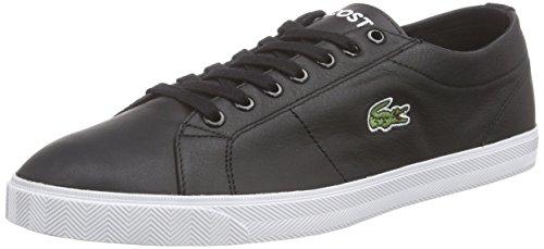 Lacoste da uomo Marcel LCR3SPM Sneakers, nero (Schwarz (BLACK/BLACK 02H)), 45 EU