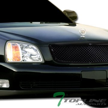 Blk Luxury Style Mesh Front Hood Bumper Grill Grille Abs Cadillac Deville (Cadillac Deville Grilles compare prices)