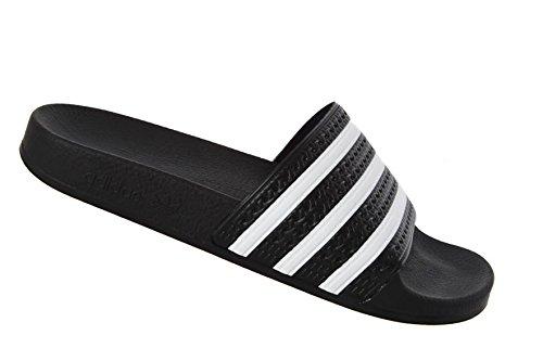 adidas Originals - Sandali da uomo, nero (schwarz), 48