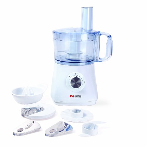 Alpina SF-4018 Multi-Function Food Processor with Citrus Juicer for 220/240 Volt Countries (Not for USA) (Juicer 240 Volts compare prices)
