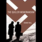 The Quiller Memorandum | Adam Hall