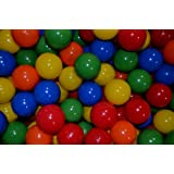 "My Balls Pack of 150 pcs Crush-Proof non-PVC Plastic Phthalate Free Ball Pit Balls in 5 Colors - 3.1"" Air-Filled - Guaranteed... at Sears.com"
