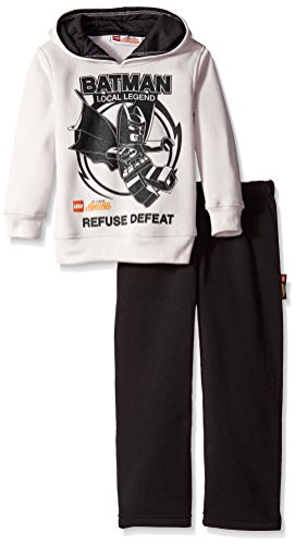 DC Comics Boys' 2 Piece Fleece Hoodie and Pant Set Batman at Gotham City Store