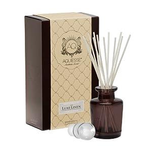 Aquiesse Luxe Linen Reed Diffuser Gift Set