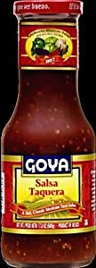 Goya Salsa Taquera Hot 176 Ounces from Goya Foods Inc.